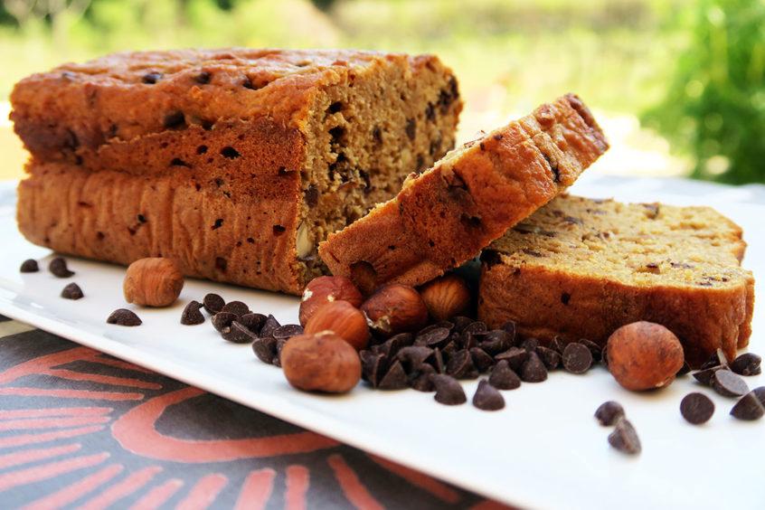Cake okara pépites de chocolat