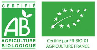 Certifié agriculture BIO EU FR